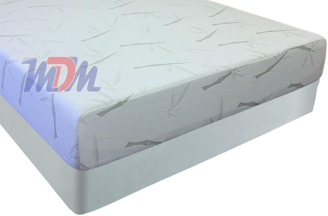 Medium Plush Memory Foam Mattress Affordable Slumber Pedic Bamboo