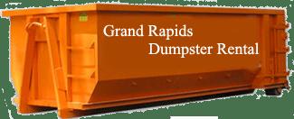 Roll Off Dumpster in Grand Rapids, MI