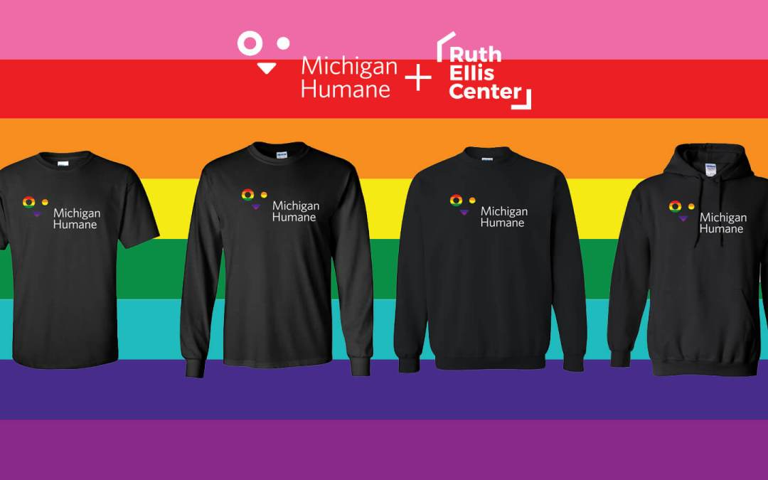 Michigan Humane Offering Limited Edition Pride Shirts to Support LGBTQ+ Community