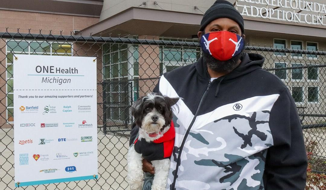 Michigan Humane's One Health Program Helps Keep Families Together