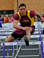 Riverview's Chris Krach is the No. 1 seeded high hurdler heading into Saturday's News-Herald Track & Field Championships.