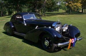Concours d'Elegance of America 2012 live video webcast event July 19th 2012