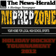 33rd annual News-Herald 2012 Holiday Hockey Tournament Dec 29th video streaming