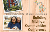 Gov. Snyder to speak at the Building Michigan Communities Conference April 29th live webcast 11am ET
