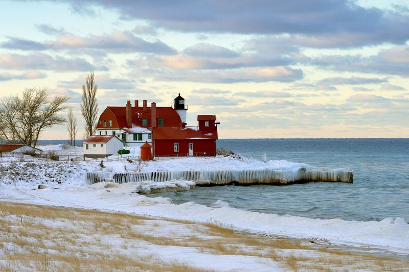 "Michigan Nut Photography: Lighthouse Gallery - State of Michigan &emdash; ""Pretty Point Betsie"""
