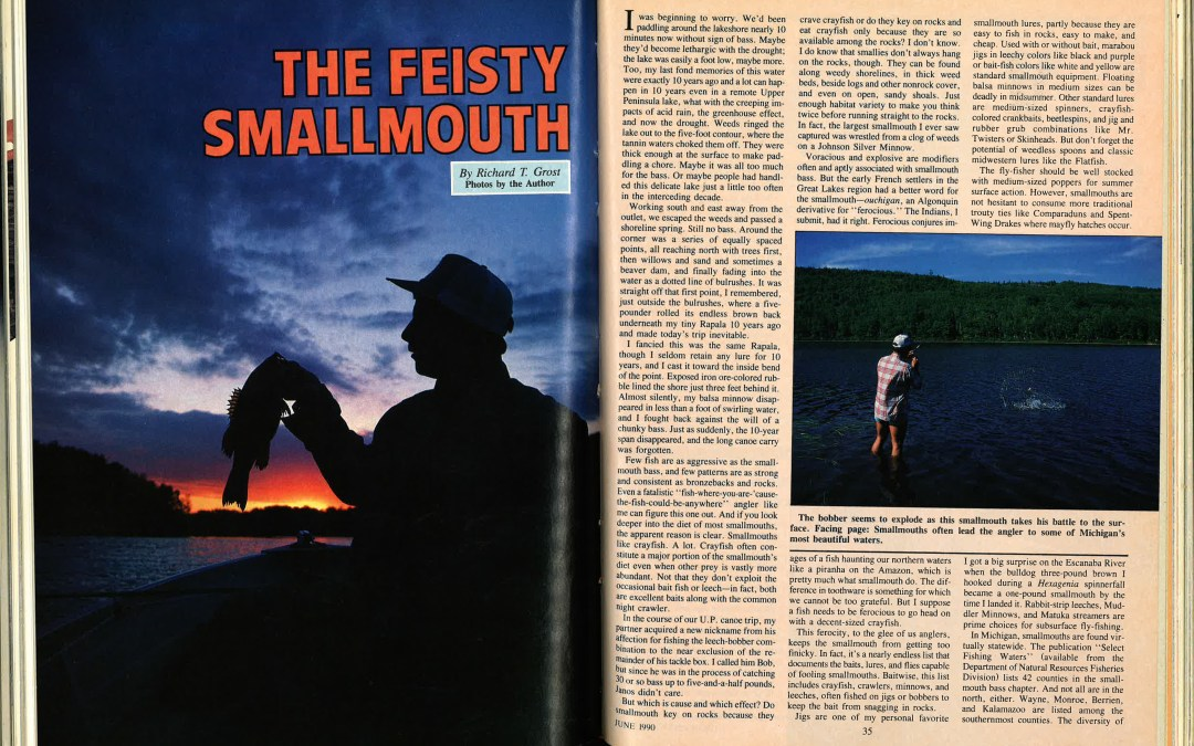Throwback: The Feisty Smallmouth