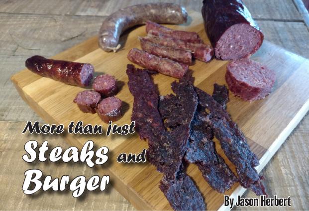 Steaks, burgers, jerky?