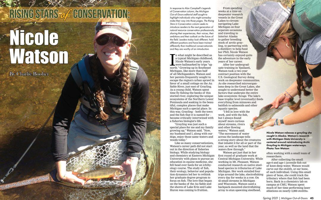 Rising Stars of Conservation: Nicole Watson