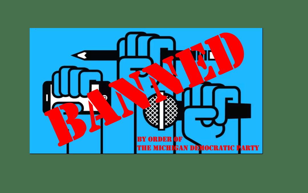Recording Ban Wounds Democratic Party, Democracy