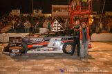 Dona Marcoulier won the Late Model feature Saturday May 1, 2015 at Tri-City Motor Speedway. (Courtesy of Tri-City Motor Speedway)