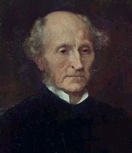 19th c. British philosopher J.S. Mill.
