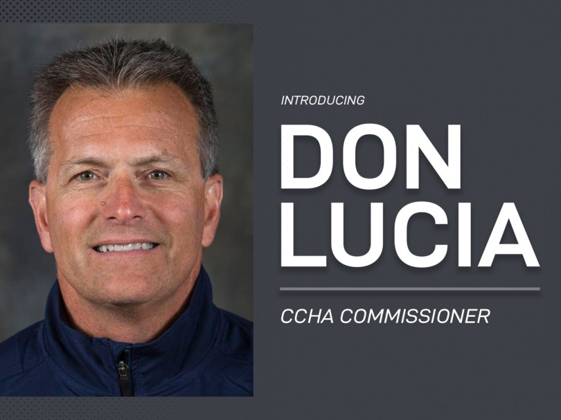 CCHA names Don Lucia Commissioner