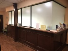 Custom Frosted Office Space