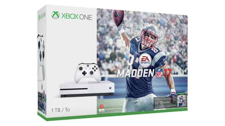 Madden NFL 17 xbox one games for body and girls