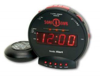 Sonic Bomb Loud Dual Alarm Clock For Heavy Sleepers