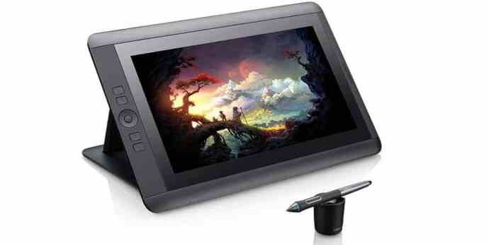 Wacom Cintiq 13HD Interactive Pen Display – Best Drawing Tablet with Screen