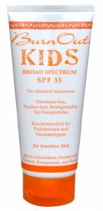 BournOut Kids Sunscreen