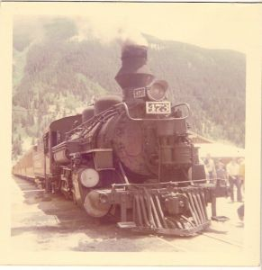 Durango-Silverton Line 1976