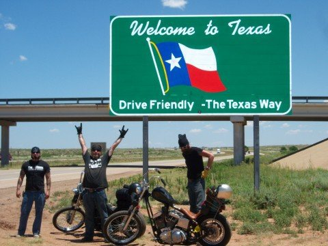Back at Texas State Line