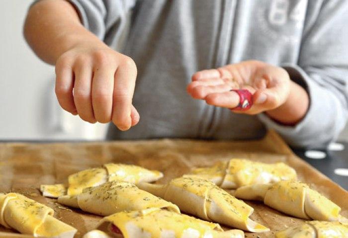 Recette Des Croissants Salés Chèvres Figues Mickey Junior