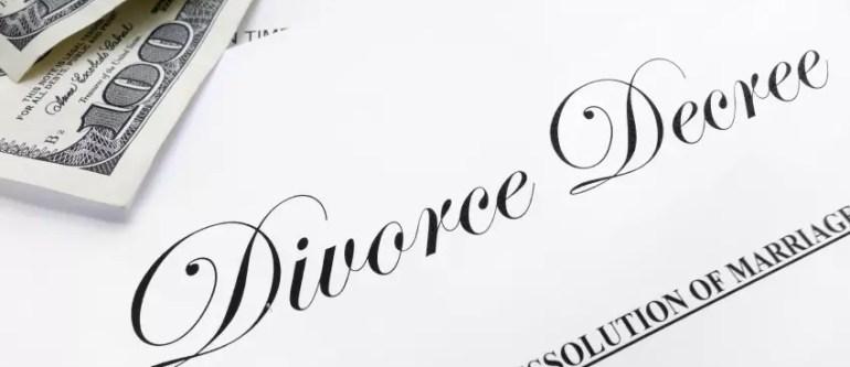 divorce decree papers