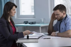 The blame game during a divorce