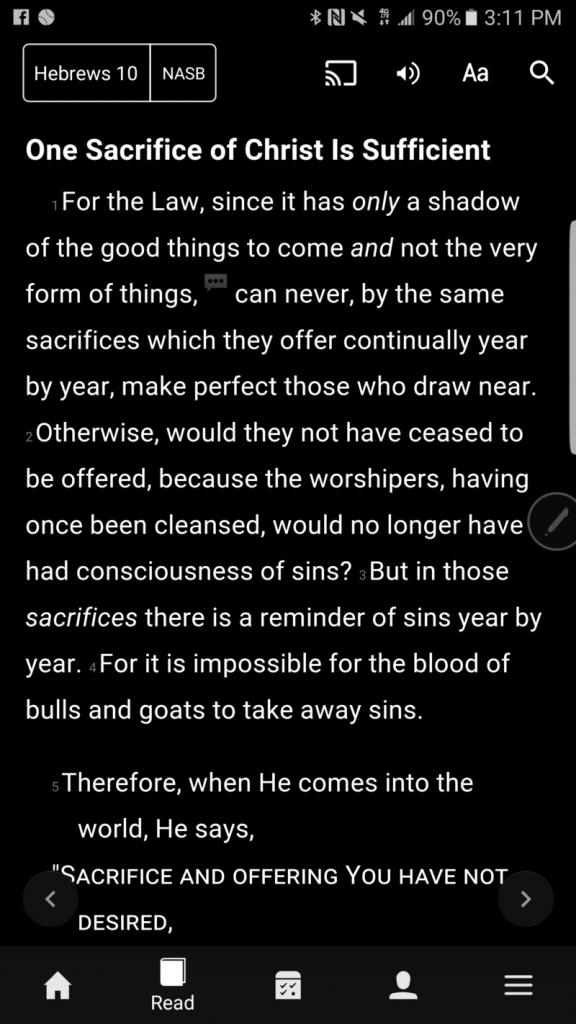 glance-bible-verse