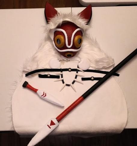 Diy Princess Mononoke Costume Mickred Com