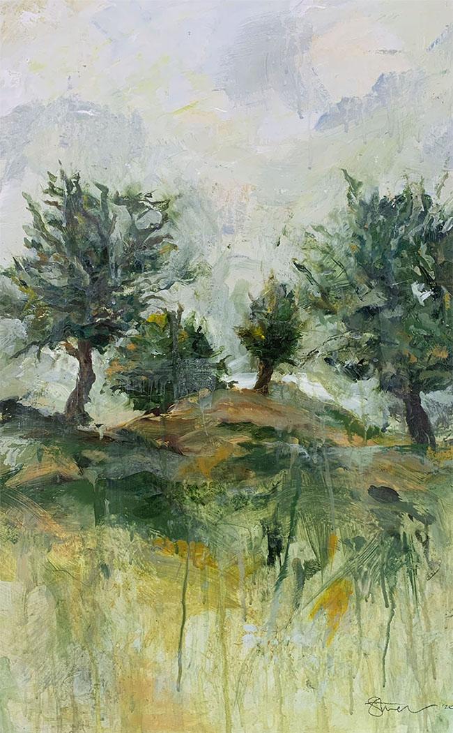 four oaks by artist Michael Statham