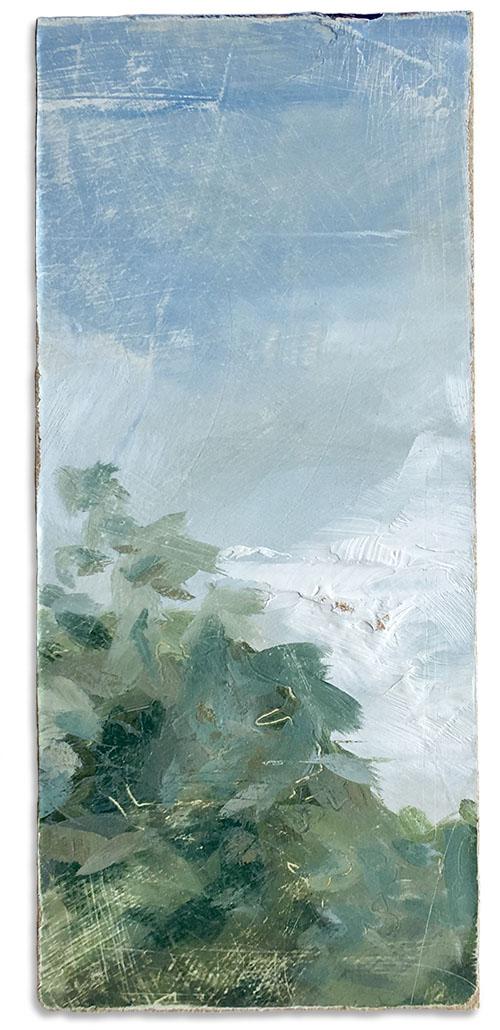 an imagined vintaged landscape number 3 by artist Michael Statham