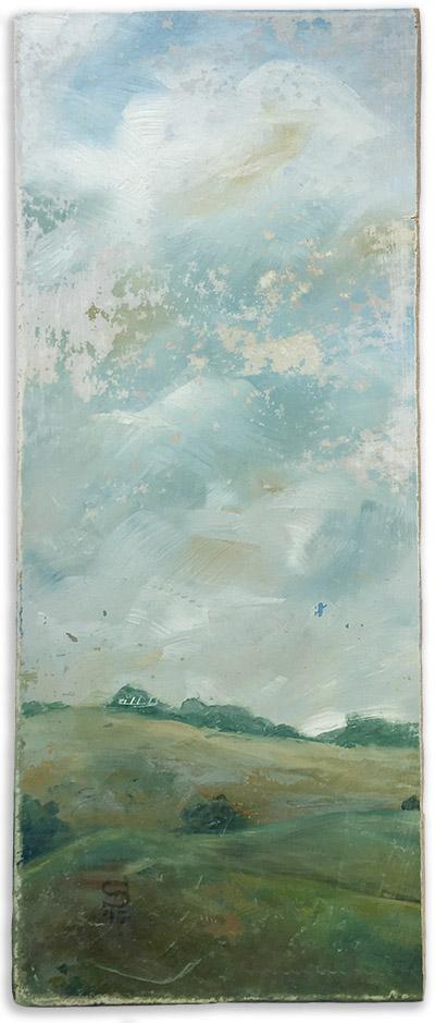 an imagined vintaged landscape number 2 by artist Michael Statham