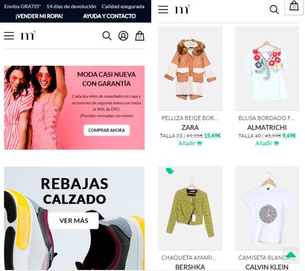 Marketplace donde vender ropa usada y nueva por internet