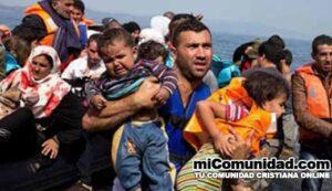 Jesús aparece a refugiados que cruzaban el Mar Egeo