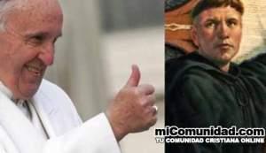 Papa: Martín Lutero no estaba errado por proponer una reforma