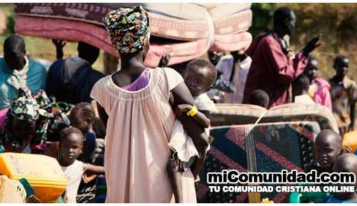 Miles de cristianos huyen de Sudán del Sur
