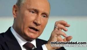 Putin aprueba ley que prohíbe evangelismo en Rusia
