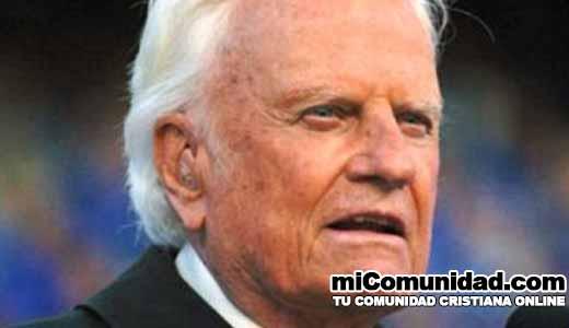 Billy Graham: No confíen en videntes el futuro está en Dios