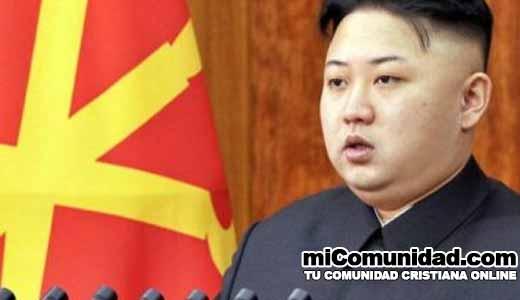 Corea del Norte prohíbe cualquier producto parecido a una cruz