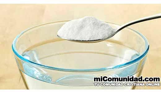 Cuáles son los beneficios de tomar agua con bicarbonato de sodio todos los días