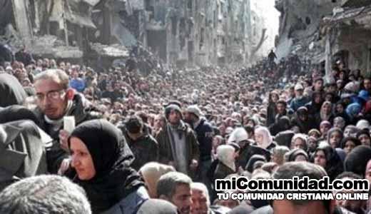 En medio de la guerra, miles se convierten en Siria