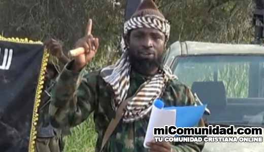Nuevo líder de Boko Haram amenaza con colocar bombas en iglesias