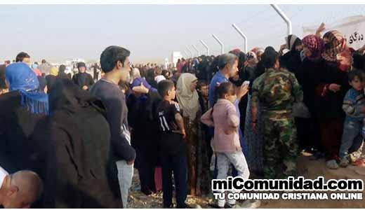 Crisis de refugiados en Irak: Una oportunidad para evangelizar