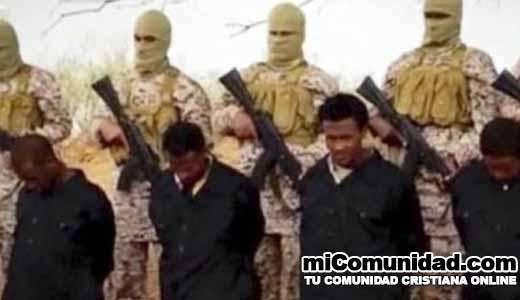 Más de 1.130 cristianos fueron asesinados por el Estado Islámico