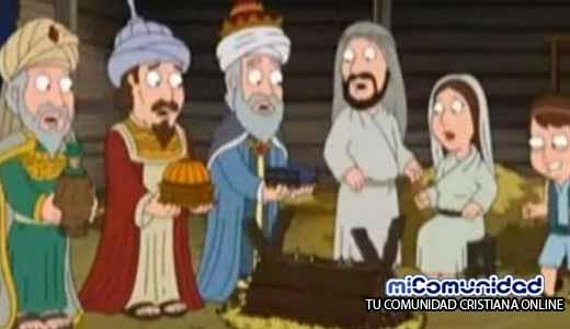 """Niño Jesús es golpeado en polémico episodio de """"Padre de Familia"""""""
