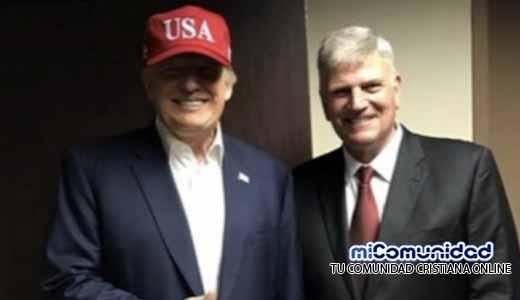 Bautistas puertorriqueños no apoyan a F. Graham por estar a favor de Trump