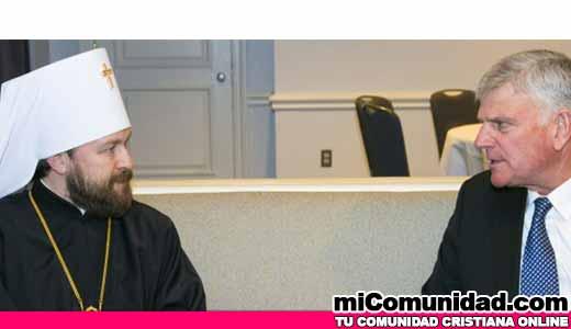 Ecumenismo: Al igual que su padre, Franklin Graham se une a Católicos Ortodoxos