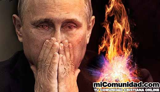 "La Iglesia Católica Europea afirma que ""Vladimir Putin esta Condenado al Infierno"""