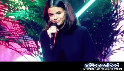 "Selena Gómez comparte su testimonio: ""Jesús es real"""
