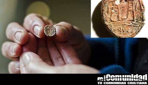 """Arqueólogos: Hallan la impresión de un sello de hace 2.700 años cimenta la existencia de """"Gobernador Bíblico"""" de Jerusalén"""