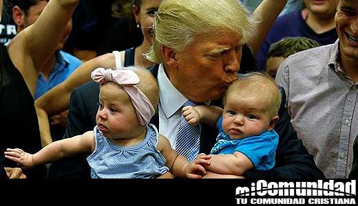 """Donald Trump lo nombran """"Persona Pro-vida del año"""""""